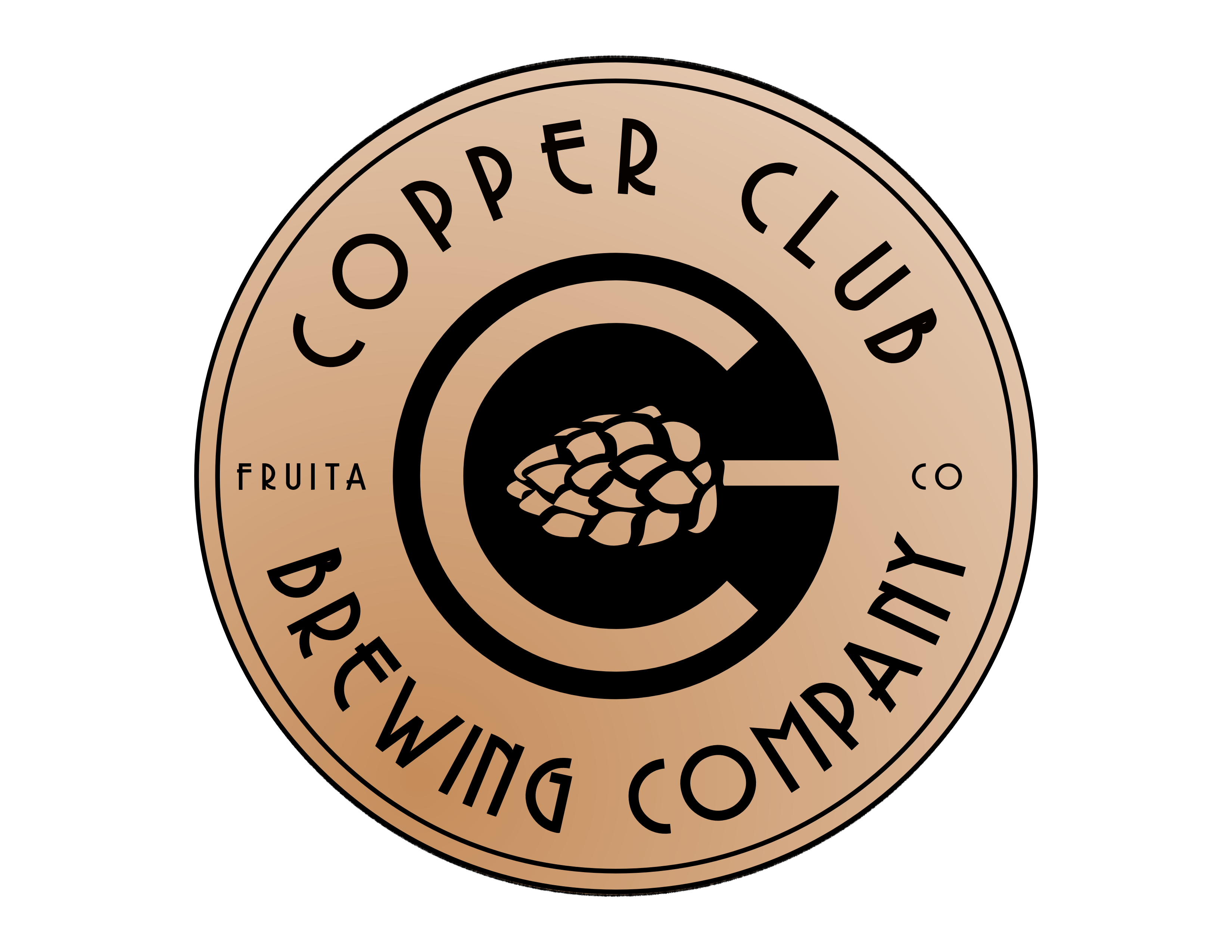 Copper Club Circ Design Color